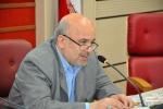 روزبه استاندار قزوین در جلسه شورای گفتگوی دولت و بخش خصوصی 94.05.03