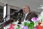 روزبه استاندار قزوین در مراسم صبحگاه نیروی انتظامی