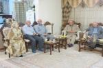 دیدار روزبه استاندار قزوین از رسانه های خبری استان و خانواده شهدای خبرنگار