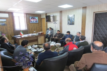 علی اکبرسلیمانی،فرماندارآوج، دیدار،فعالان کتاب
