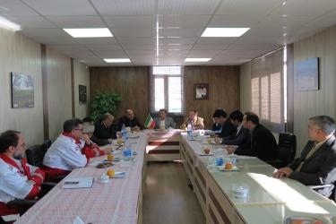 علی اکبرسلیمانی،فرماندارآوج، نشست مشترک،مدیریت بحران،قزوین،همدان،آوج